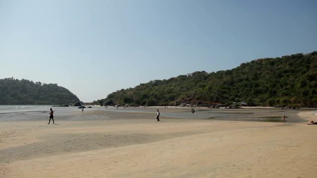 INDIA, GOA, 2012: India, Goa, Palolem video