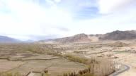 India Ladakh Leh city time lapse video