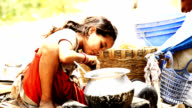 Indian Rural Girl Cooking video