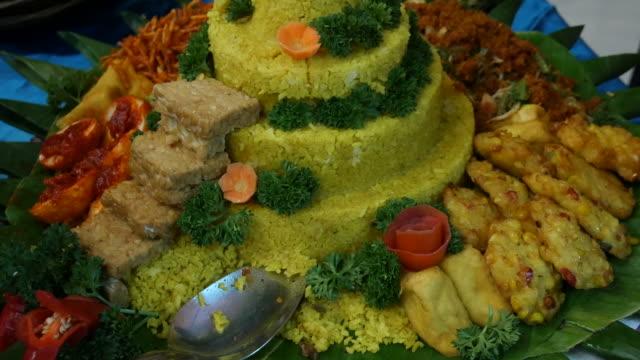 Indonesian food video