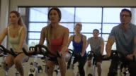 Indoor Cycling Class video
