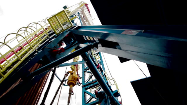 Indoor Oil Gas Drilling RIg video