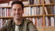 Indoor Portrait Of Hispanic Businessman Shot On R3D video