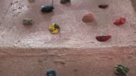 Indoor Rock Climbing Wall 2 HD video