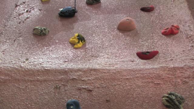 Indoor Rock Climbing Wall 2 HD video