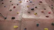 Indoor Rock Climbing Wall 3 HD video