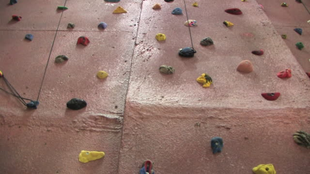 Indoor Rock Climbing Wall 3 HD video
