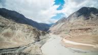 Indus River At Leh, Ladakh, India video