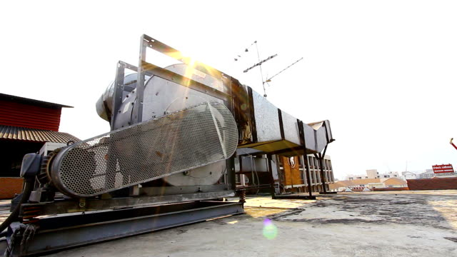 Industrial air conditioning and ventilation video