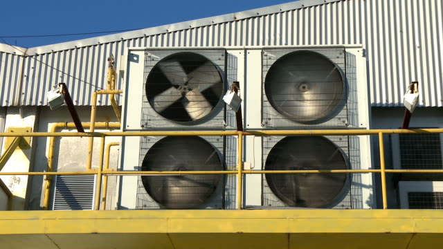 Industrial air conditioning conditioner video