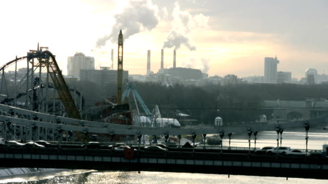 Industrial City View video