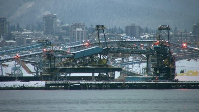 Industrial dock. video