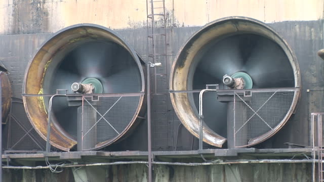 Industrial fan turbine video