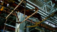 Industrial interior of an old building. Shot on RED EPIC Cinema Camera. video