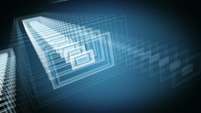 Industrial or geometric loop background. video