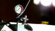 industrial pressure barometer at work video