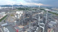 Industrial processing of natural gas. video