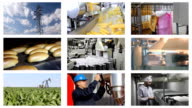 Industrial Production, People Working video