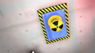 Industrial Scene Cursor and Push Button HD video