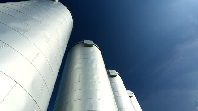 Industrial silos video