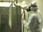Industrial Spray Painting 1 video