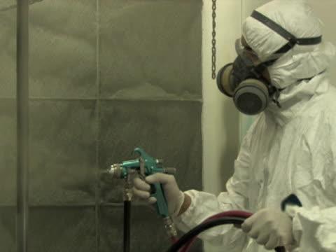 Industrial Spray Painting 3 video