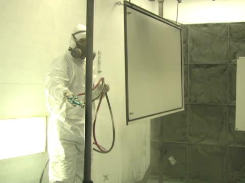 Industrial Spray Painting 5 video