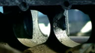 Industrial video - materials. Recycling or recovery. Scrap metal  08 video