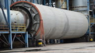 Industrial  Wood rotary drum drier video