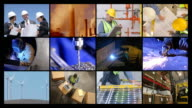 Industry, Construction, Manufacturing & Business, Video Montage video