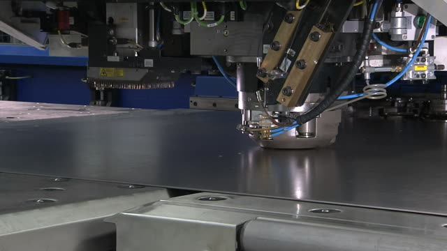 Industry Tin Cutting video