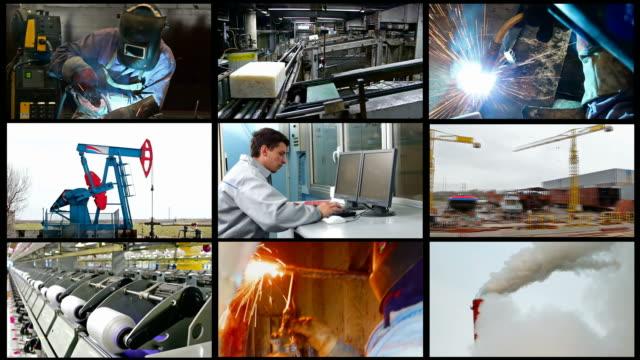 Industry-split screen video