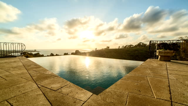Infinity Pool Time Lapse video