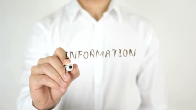 Information Technology, Written on Glass video