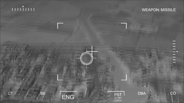 Infrared Aerial Bombardment video