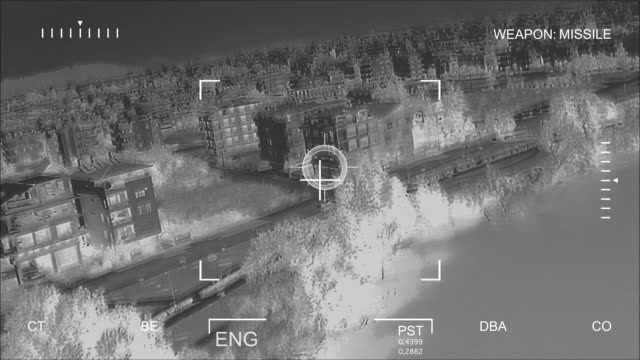 Infrared Air Attack video