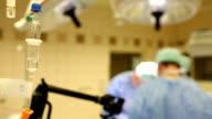 Infusion at surgery video