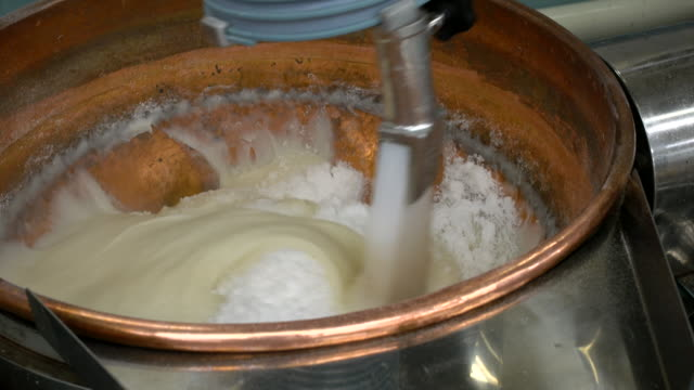 Ingredients being whisked together video