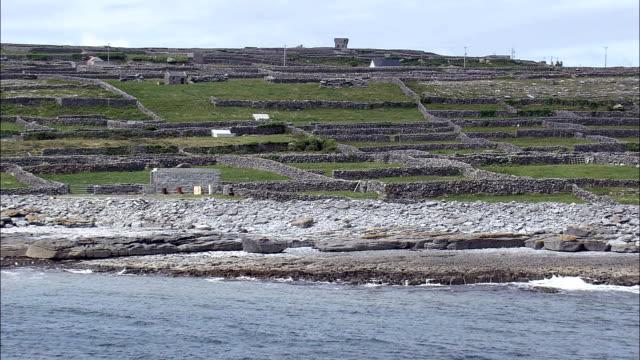 Inisheer Island  - Aerial View -, Ireland video