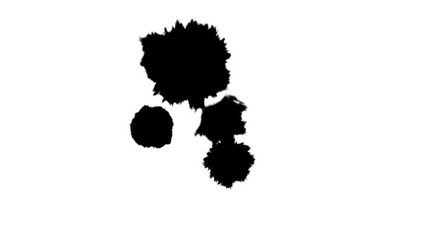 Ink Drops And Splatters video
