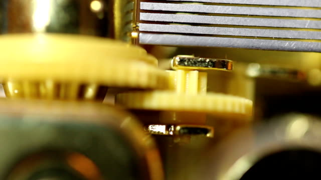 Inner Workings Of Music Box Stopping 50% Speed video