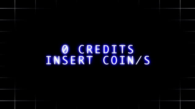 Insert Coin - Arcade Game video