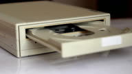 Inserting Disc into DVD ROM Device video