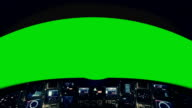 Inside a Spaceship Cockpit on a Green Screen video