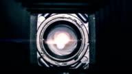 Inside a vintage camera video