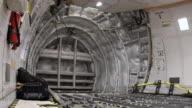 4K: Inside cargo aircraft video