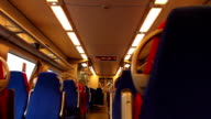 Inside High Speed Train video