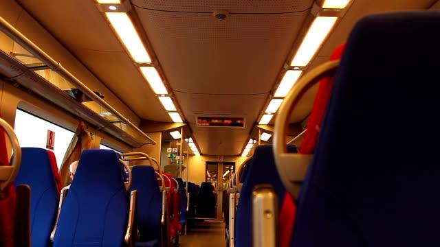 Inside High Speed Train video