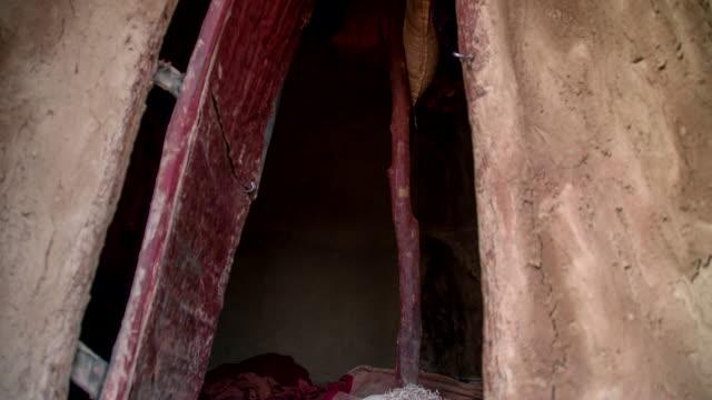 TD Inside Of A Mud Hut video