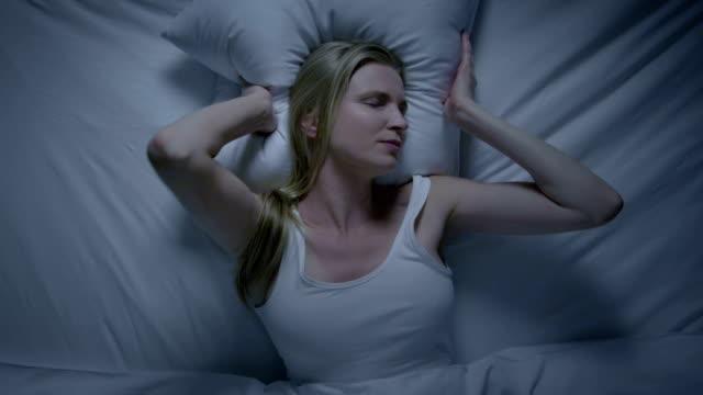 Insomnia sleep problems. Storyline. video